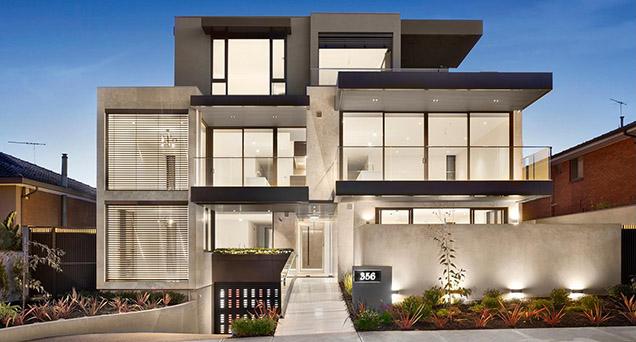 Excellent Luxury Homes In Melbourne Builder And Developer Home Interior And Landscaping Ponolsignezvosmurscom